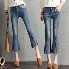 Vintage Womens Boot Cut Denim Slim Pants Trousers Bell bottoms Jeans High Waist