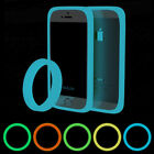 Universal Bumper Case Fluorescent Protective Silicone Bracelet For Smart Phone