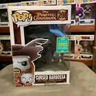 Pirates of the Caribbean Cursed Barbossa with Monkey SDCC 2016 208 Pop Vinyl