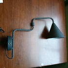 EX STORE DISPLAY Swing Arm 1 Light Wall Light in Black Home Lighting Litecraft