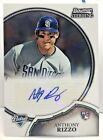 Anthony Rizzo 2011 Bowman Sterling RC Autograph Auto - CHICAGO CUBS PADRES