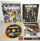 INFAMOUS PlayStation 3 w Manual 1st Press PS3 Sucker Punch Action w super powers