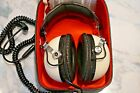 Vintage Pioneer SE-50 Stereo Headphones Original White in Box - Works