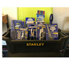 OLYMPIA TOOLKIT 8 DIFFERENT TOOLS IN A STANLEY TOTE BOX PERFECT FOR TRADESMEN