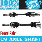 2x Front CV Drive Axle Shaft for CHEVROLET TRACKER 99 04 4WD