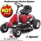 Yard Tractor Rear Proffesional Engine Riding Mower with 6 Speed Mulch Kit