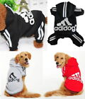 Puppy Small  Large Pet Dog Winter Apparel Clothes Jacket Shirt Hoodie Jumpsuit