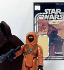 STAR WARS-1977-JAWA-PIN HOLE EYES-Lg.HOOD/Dark STITCH-MINT-H.K.-VINTAGE-AFA-C/90