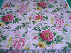 3 Yards Quilt Cotton Fabric Northcott Charlotte Floral Toss Dustry Rose