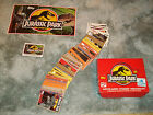 Jurassic Park trading cards lot over 200 cards