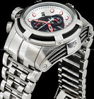 Invicta Mens Reserve Bolt Zeus Swiss ETA Chronograph Stainless Steel 200M Watch