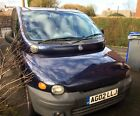 LARGER PHOTOS: FIAT MULTIPLA 1.6,MOT TILL 19TH DECEMBER,6 SEATER, PEOPLE CARRIER,COMFY DRIVE