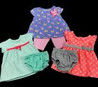 Infant Baby Girl Clothes Size 0 3 Months Spring Summer Mixed Lot Set