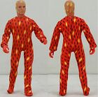 Mego 8 1970s WGSH The HUMAN TORCH Fantastic Four 4 ALL ORIGINAL