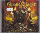 GRAVE DIGGER LIBERTY OR DEATH CD FROM 2006 HEAVY METAL POWER METAL