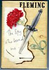 The Spy Who Loved Me Ian Fleming 1st Edition 1962 Signed Bond Girl Naomi