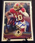 ROBERT GRIFFIN III AUTOGRAPHED CARD