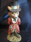 Fox figurine Henry Slyboots 1993 The Victorian Collection 6T resin