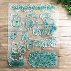 1 Sheet Silicone Transparent Stamp Seal baby car Scrapbooking Album