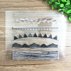 1 Sheet Silicone Transparent Stamp Seal small flags Scrapbooking Album
