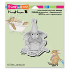 Stampendous House Mouse CAKE NIBBLER cling stamp HHCV05 bunny birthday