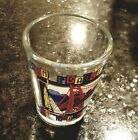 San Francisco Shot Glass 225 Golden Gate Bridge And Sail Boat