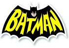 BATWING STICKER BATMAN STICKER RETRO BATMAN DECAL LOGO 3x2 BW 236