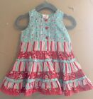 70 OFF SALE Sz 3 6 Mths PUMPKIN PATCH Mix Print Tiered Dress EUC