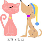 Cat  Dog Die Compatible with Bigshot Sizzix New Free Shipping USA Seller