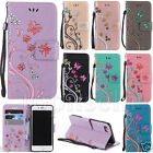 Fashion Flip Patterned Bling PU Leather Card Pocket Kickstand Strap Case Cover 2
