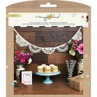 Crate Paper Maggie Holmes Crocheted Doily Garland NEW
