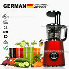 Slow Juicer BPA free Fruits Vegetables Low Speed Juice Fruit Drinking Machine