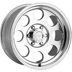 17x9 Polished Pro Comp Series 69 5x55 6 Rims Couragia MT 35 Tires