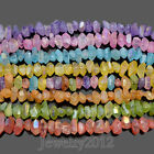 Natural Crystal Quartz Faceted Metallic Coated Rough Nugget Beads 75 15 20mm