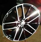 18 Chevy Cruze Custom Wheels G 0029 5x105 1143 Black Machined Wheels +35mm