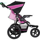Baby Trend XCEL Jogging Stroller Raspberry Single Reclining Seating Jogger Seat