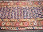Antique CAUCASIAN RUG RUNNER with great Natural colors