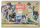 2016 Topps Archives 65th Anniversary Edition Retail Sealed Box Exc 1 Auto per bx