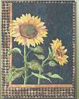 Sunflower applique quilt pattern by Toni Whitney