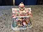 Fitz and Floyd Candy Lane Express COOKIE JAR-Santa's Rail Road Station