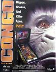 Congo Pinball Machine Original Williams Autographed Poster From 1995-11