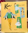 1961 VTG Barbie KEN DOLL CASE ORIGINAL PONYTAIL 2 ACCESSORY DRAWERS ALL INTACT