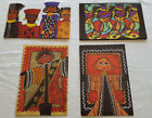 BOX 8 AFRICAN AMERICAN ART BLANK NOTE CARDS ENV4 DIFF DESIGNS2 EACH
