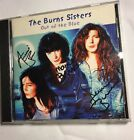 THE BURNS SISTERS OUT OF THE BLUE CD SIGNED BY THE SISTERS .