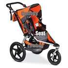 Seat replacement for Single BOB Revolution Flex Stroller in Orange