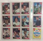 1981 Topps Coca-Cola Detroit Tigers Team Set - Complete with Kirk Gibson Rookie