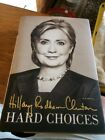 Signed Book Hard Choices by Hillary Clinton 2014 HC Autographed Free Ship
