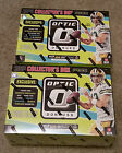 (2) 2016 DONRUSS OPTIC FOOTBALL COLLECTORS BOX 1 AUTOGRAPH & MEMORABILIA PER BOX