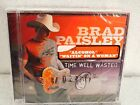 Brad Paisley Time Well Wasted New Sealed Cd