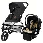 Mountain Buggy Mini Stroller & Protect Car Seat Black Travel System Free Ship!!!